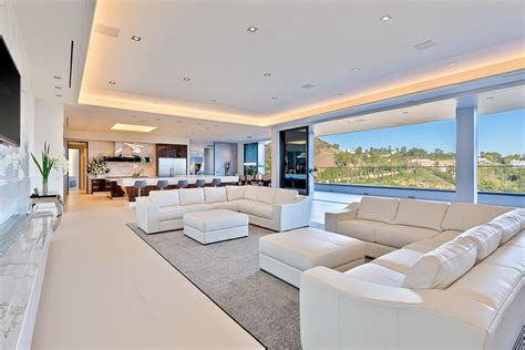 modern contemporary bel air mega mansion