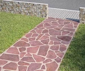 Gartenweg Anlegen Günstig : gartenweg anlegen einfahrt pflastern weg rot und gartenweg ~ Sanjose-hotels-ca.com Haus und Dekorationen
