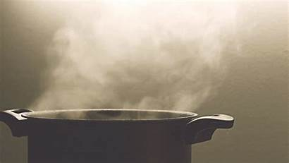 Water Steam Pot Cinemagraph Animated Animation Gifs