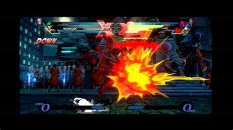 Ultimate Marvel Vs Capcom 3 Nemesis Morrigan Vergil Vs