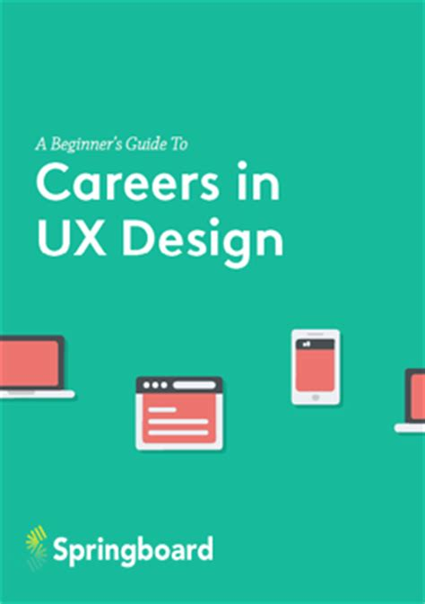 springboard guide to ux design jobs