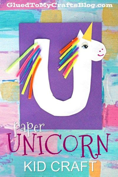 quot u quot is for unicorn kid craft family activities kid 344 | 4b6c8158e29f89330214f04f7c6a1e62