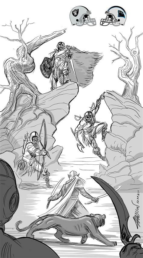 crazy nfl drawings  pixars austin madison