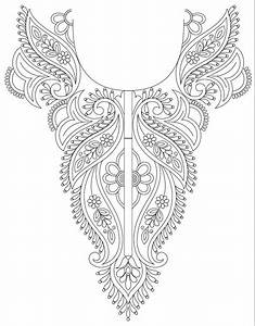 Hand embroidery designs for kurtis neck - Simple Craft Ideas