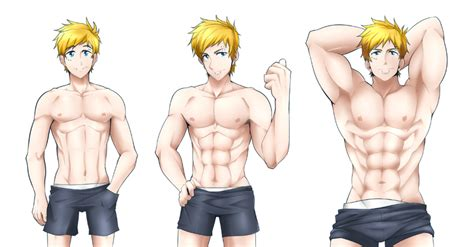 Muscle Growth Challenge By Kuroshinki On Deviantart