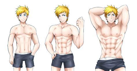 Cartoon Biceps Flex