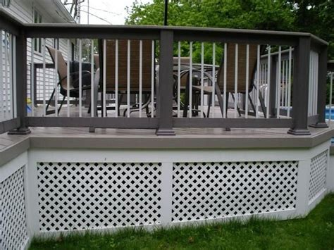 inexpensive deck skirting ideas inexpensive deck skirting ideas jbeedesigns outdoor