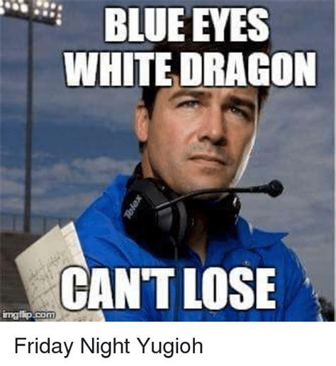 Blue Meme - blue eyes white dragon meme