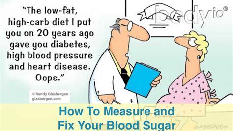 measure  fix  blood sugar garma  health
