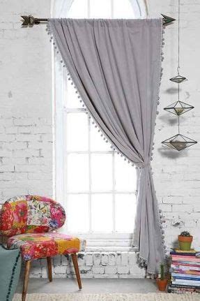 Plum And Bow Pom Pom Curtains by 9 Best Curtain Ideas Images On Pinterest Curtains