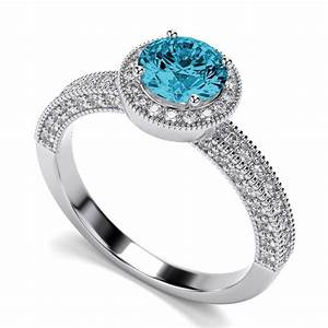 blue stone engagement ring rings pinterest With wedding rings with blue stones