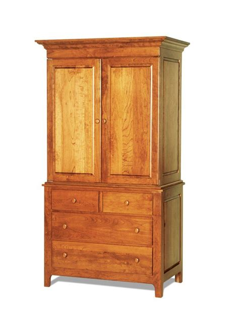 shaker wardrobe  dutchcrafters amish furniture
