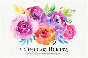 diy wedding invitations kits watercolor flowers 24 png clipart by watercolorflowers