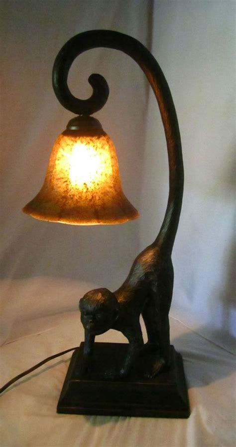 monkey lamps images  pinterest monkey monkeys