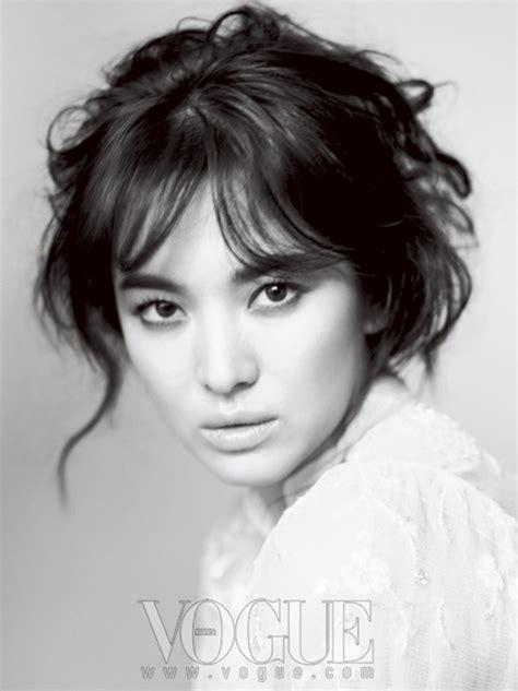 Hamil Muda Lagu Foto Song Hye Kyo Di Majalah Vogue Foto 3 Dari 10