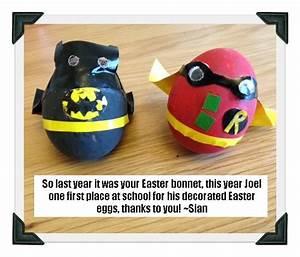 101 Best Images About Egg Decorating On Pinterest Batman