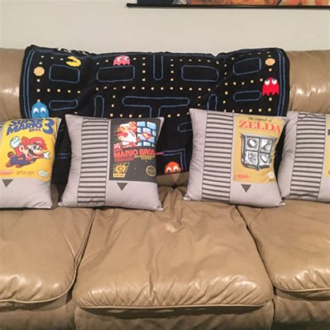 FOR THE HOME :: Video Game Cartridge Pillow   Super Mario