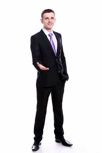 Businessman Handshake Offering Handsome Business Shaking Executives