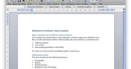 Python Blog Generate A Word File Using Python?
