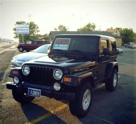 2006 jeep wrangler 4 door find used 2006 jeep wrangler rubicon sport utility 2 door