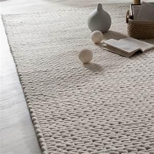 tricoter un tapis en laine With tapis tressé laine