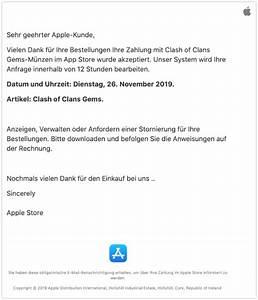 Mac Auf Rechnung : apple spam mails rechnung kaufbest tigung f r apps ist ~ Haus.voiturepedia.club Haus und Dekorationen