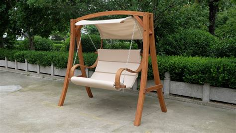 new 2 person swing hammock chair bench w canopy