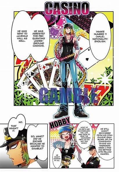 Nanbaka Chapter Manga Anime Samon Prison Read