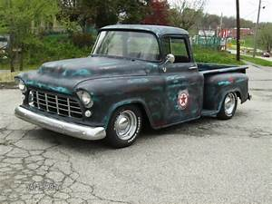 1955 Chevy 2nd Series 3100 Shortbed Truck Ls1 4l60e 4 10