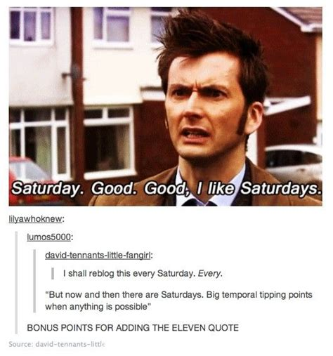 Saturday Good Day For Whovians Doctor Who