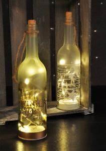 Flasche Mit Lichterkette : glasflasche flasche lichterkette glas deko weihnachten mit led beleuchtung ebay ~ Frokenaadalensverden.com Haus und Dekorationen