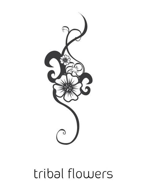 tribal flower tattoo | Tattoos | Pinterest | Vine tattoos, Flower tattoo shoulder