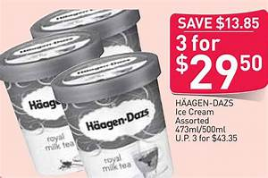 Grab 3 tubs of Häagen-Dazs Ice-Cream for just $29.50 at ...