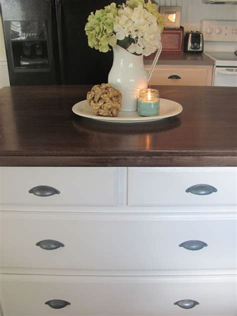 kitchen island centerpiece september before and after from thrifty decor 1861