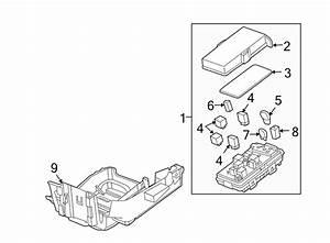 Pontiac G6 Junction Block  Engine Compartment  Engine