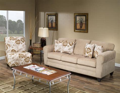 Sofa And Chair Set by Beige Fabric Modern Sofa And Accent Chair Set W Options