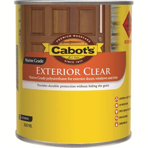 cabots ml satin exterior clear timber finish