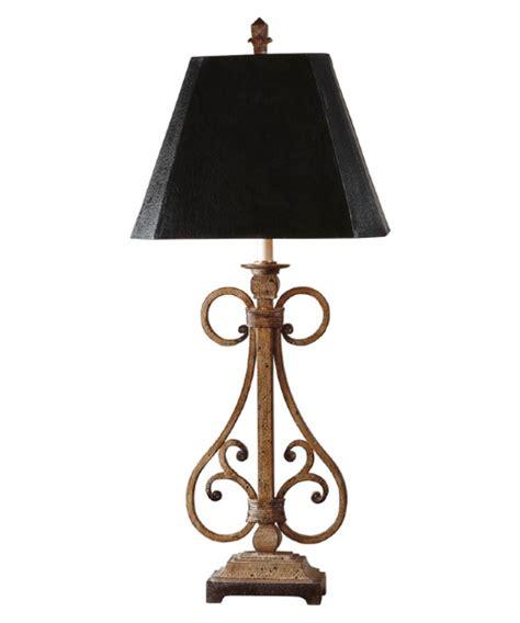 Uttermost Trenton Table Lamp  37h In Chestnut Brown