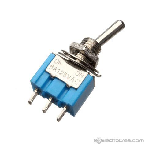 interruptor de palanca cola de rata 6a 125v mts 102 electrocrea