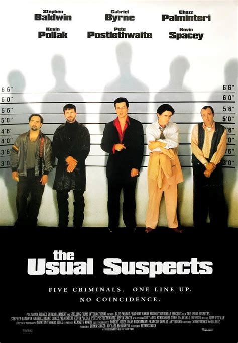 The Usual Suspects Movie Poster, Cinema Posters Sales