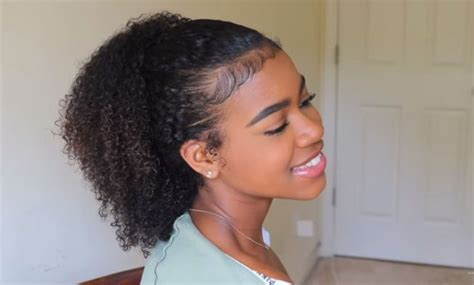 different ponytail styles for hair black s hair styles a a h v black 9071