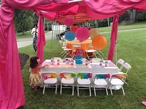 "Ella's 2nd Birthday Party "" Girly Elmo Chevron Party"