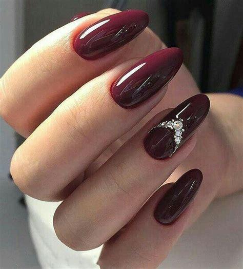 pretty nail designs  diamonds   trendy