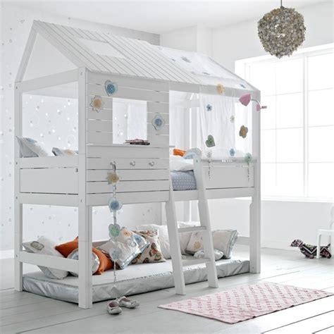 cabane pour chambre le lit cabane fille idées en images