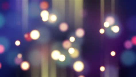 video stock  tema blurred glowing bokeh lights loop
