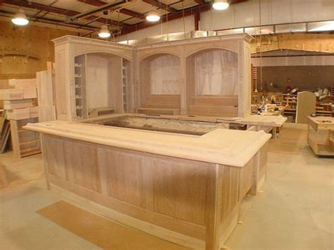 hand  cherry wood bar  furniture  carlisle llc custommadecom