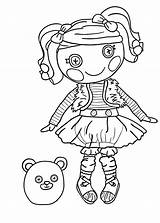 Coloring Pages Lalaloopsy Printable Furry Rag Doll Sheets Getdrawings Halloween Getcolorings Getcoloringpages Popular sketch template