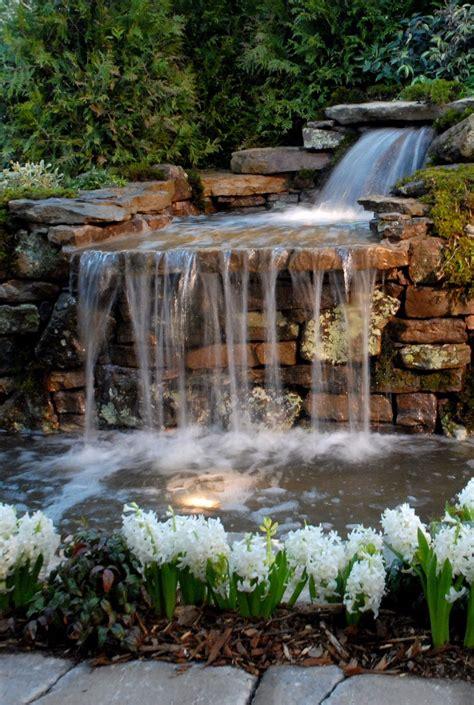 pinspiration  stylish backyard garden waterfalls