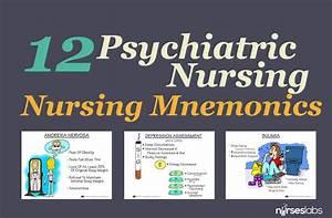 Psychiatric Drugs Chart 12 Psychiatric Nursing And Psychosocial Mnemonics Nurseslabs