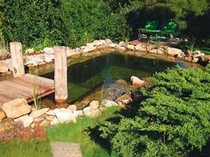 1 bassin artificiel a effet naturel With amenagement petit jardin exterieur 13 cuisines jardin ete maison amp travaux